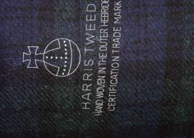Harris Tweed Orb Stamp