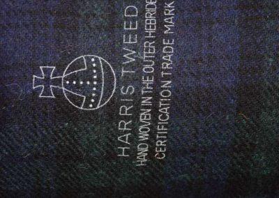 Harris Tweed Orb Stamp