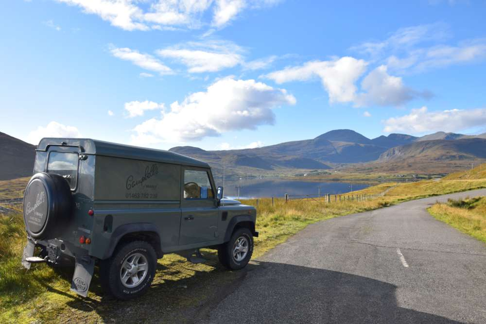 Campbells of Beauly Defender on Harris