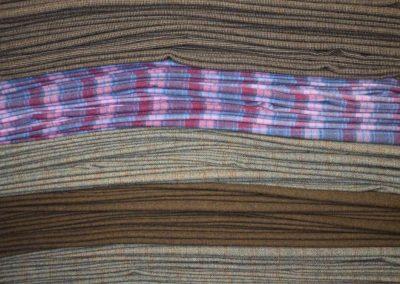Layers of Harris Tweed