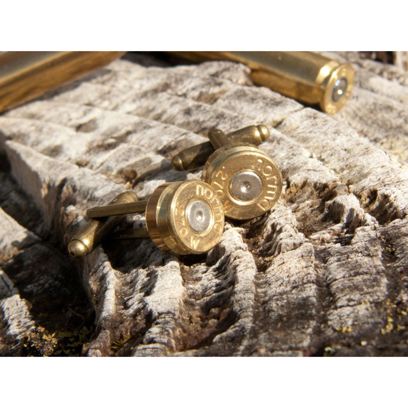 Brass Bullet Cufflinks