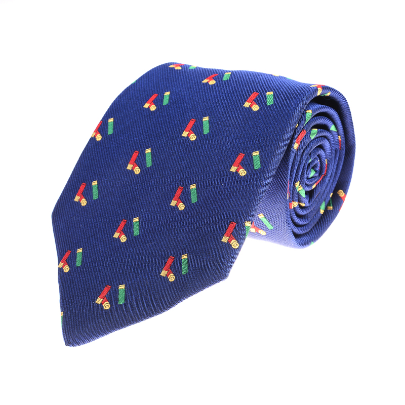 Cartridges Tie, Blue