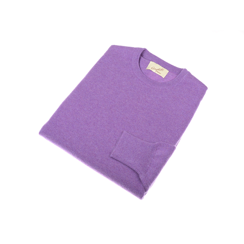 Cashmere Crew Neck Jumper, Regalia