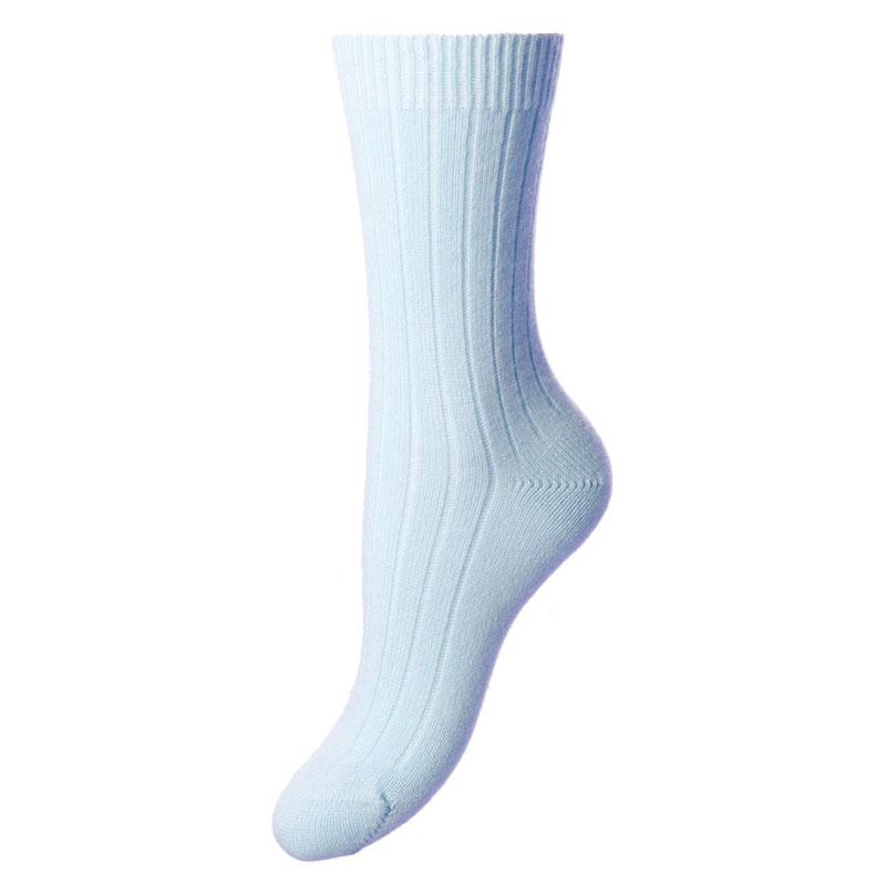 Cashmere Socks Tabitha, Sky