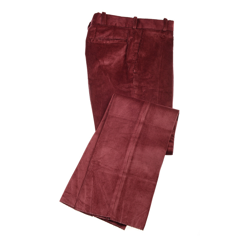 Corduroy Trousers, Maroon