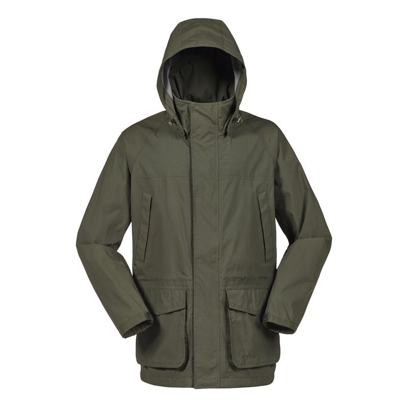 Fenland Packaway Coat, Dark Moss