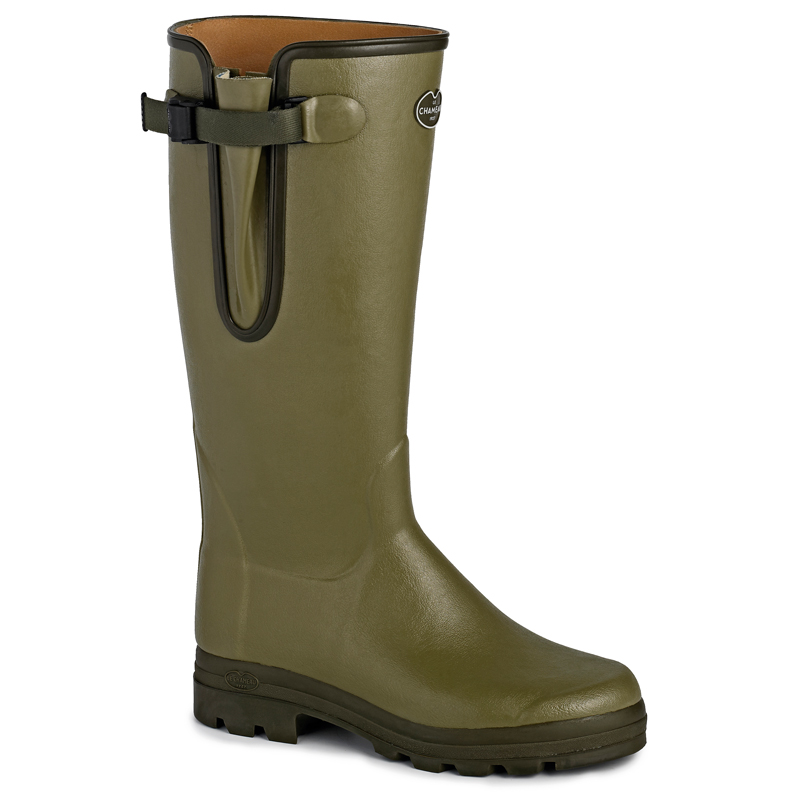 Vierzon Cuir Leather Wellies