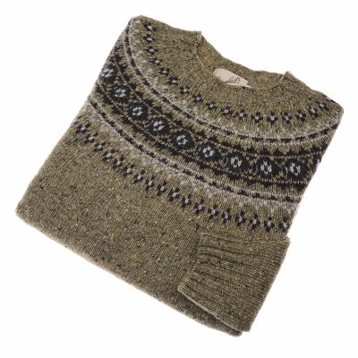 ladies fairisle jumper colour melvin