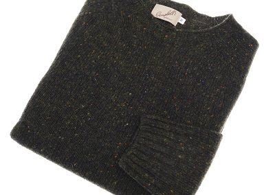 donegal wool jumper colour green