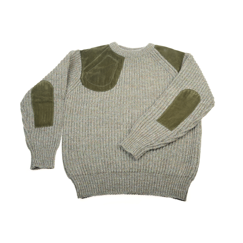 Grouse Shooting Jumper With Patch