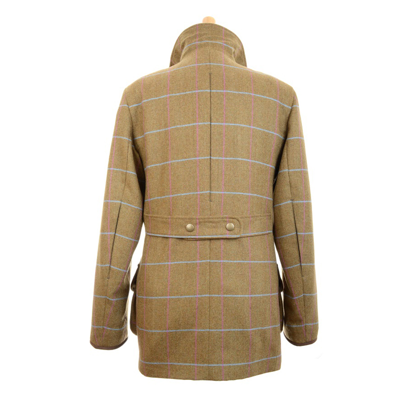 Ladies Shooting Coat, Barnsdale, Back