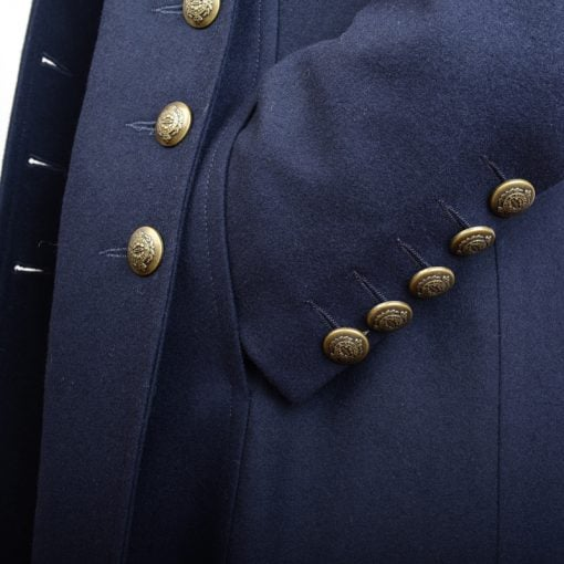Military Jacket Double Breasted Cuff Detail