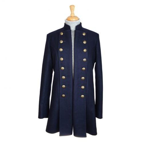 Military Jacket Open