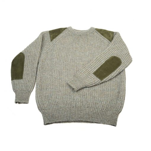 heavy knit shooting jumper