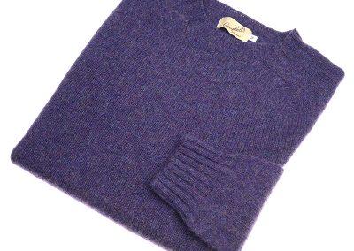 purple shetland jumper