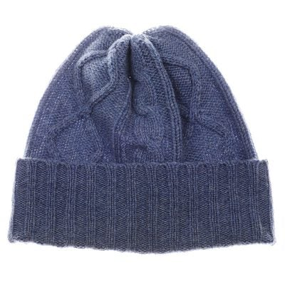Aran knitted hat mens and ladies