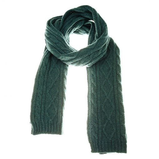 aran scarf hunter