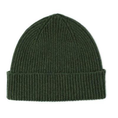 lamsbwool hat green