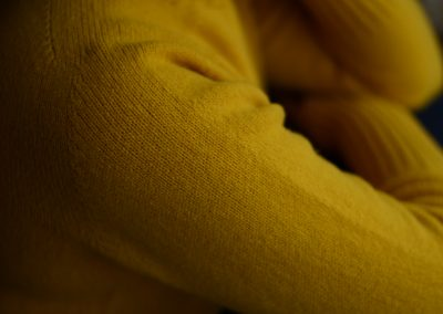 ladies geelong wool crew neck jumper colour goldeney