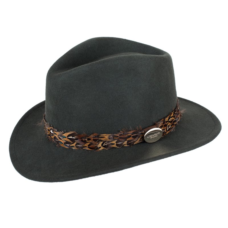 Pheasant Feather Fedora - Campbell s of Beauly 13ea179fade