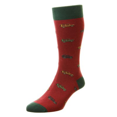 Longshaw defender socks wine