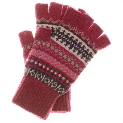 morven gloves red