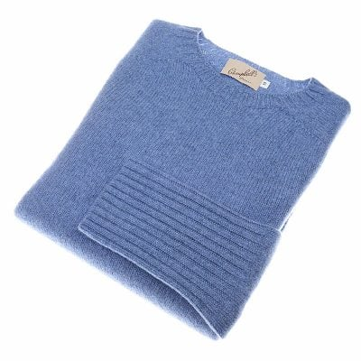 supersoft geelong lambswool crew jumper jean