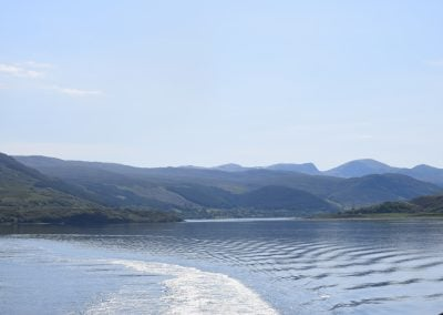 The views from Ullapool to Stornoway