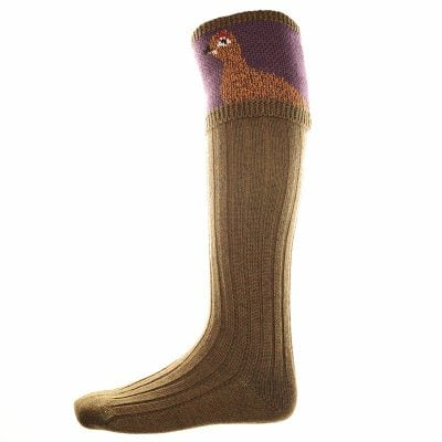 grouse shooting socks bracken thistle