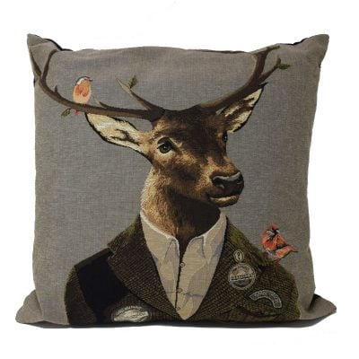 Stylish Stag Cushion