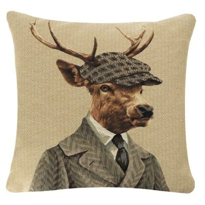 Dapper Stag Cushion