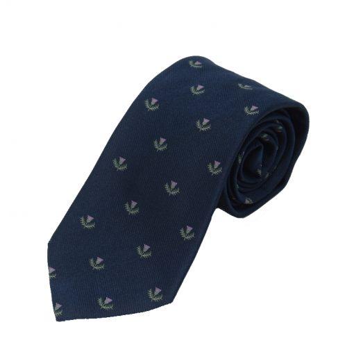 Thistle Tie Navy