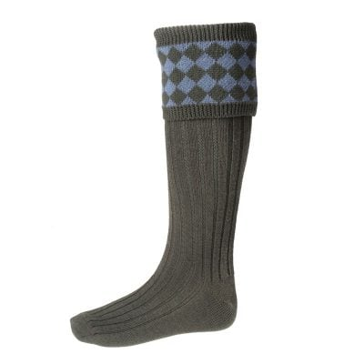 chessboard-shooting-socks-spruce-blue-mix