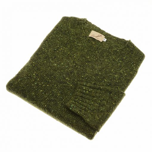 donegal crew neck jumper graney