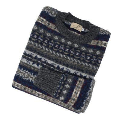 Fairisle Crew Oxford