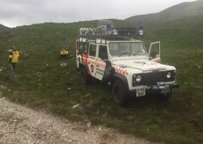 mountain rescue defender