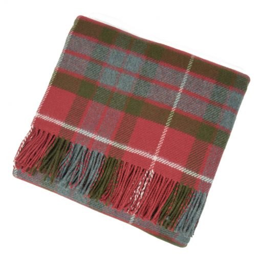 fraser red weathered blanket