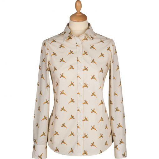pheasant print shirt