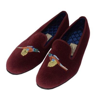 pheasant slippers