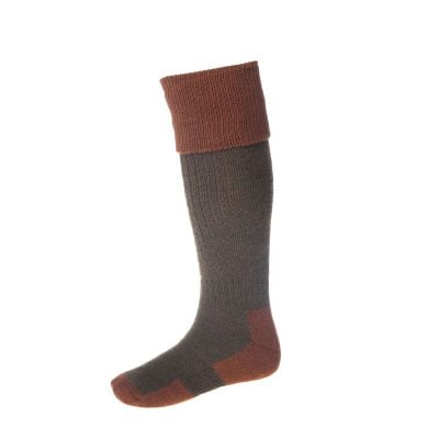 Brown Pheasant Design  Mens Socks Tan Brown  Background  Ideal Shooting Gift