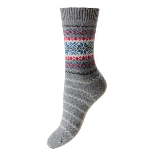cashmere socks betty grey