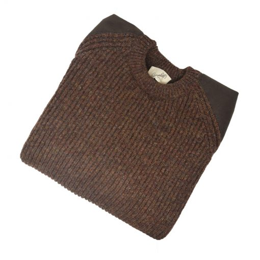 scotia jumper suede 2ply rust 4-09