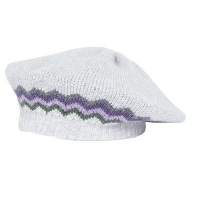 hope beret grey