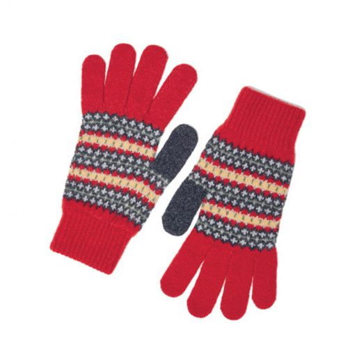 morar gloves red