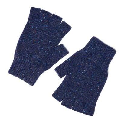 shin fingerless gloves roe