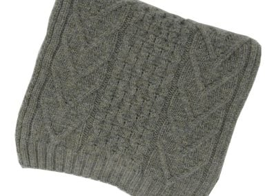 cableknit scarf