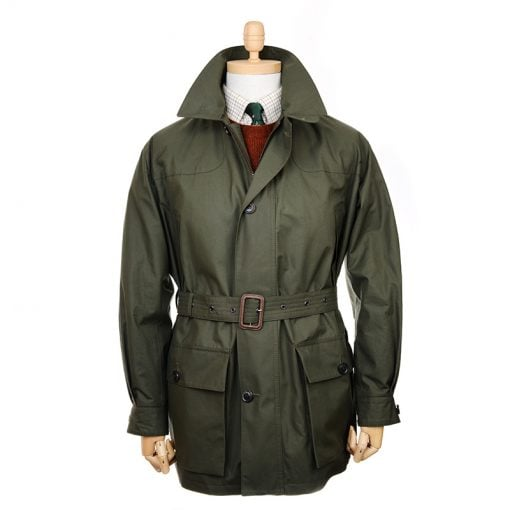flint shooting coat