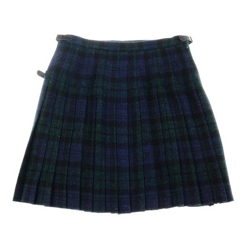 blackwatch mini kilt harris tweed 2