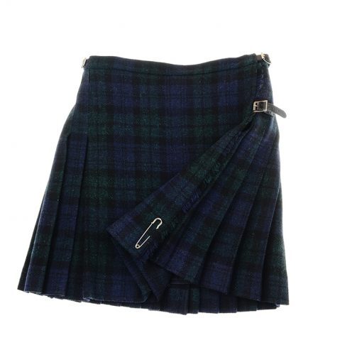 blackwatch mini kilt harris tweed 3