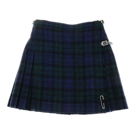 blackwatch mini kilt harris tweed